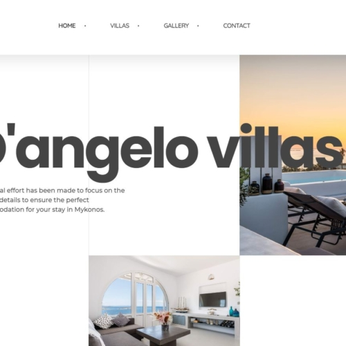 Dangelo villas